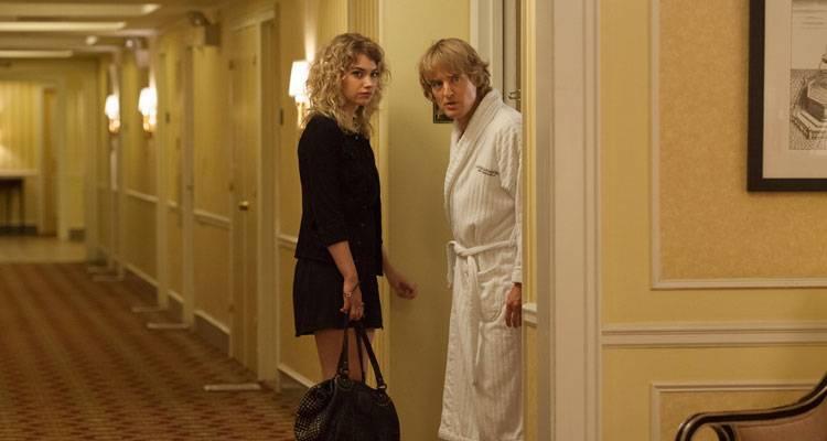 Imagen Poots y Owen Wilson en 'Lío en Broadway'