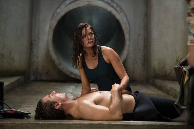 Tom Cruise y Rebecca Ferguson