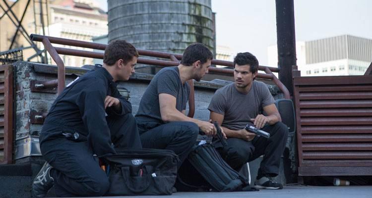 """Imagen de Adam Rayner, Rafi Gavron y Taylor Lautner en la película """"Tracers"""""""