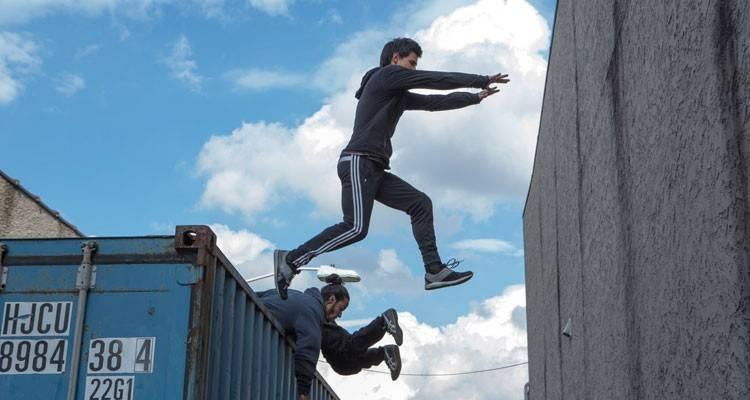 Imagen de Taylor Lautner en la película 'Tracers'