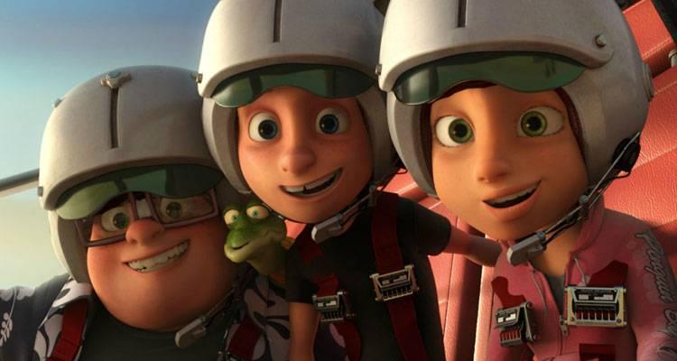 Imagen de la película de animación infantil 'Atrapa la bandera' (2015)