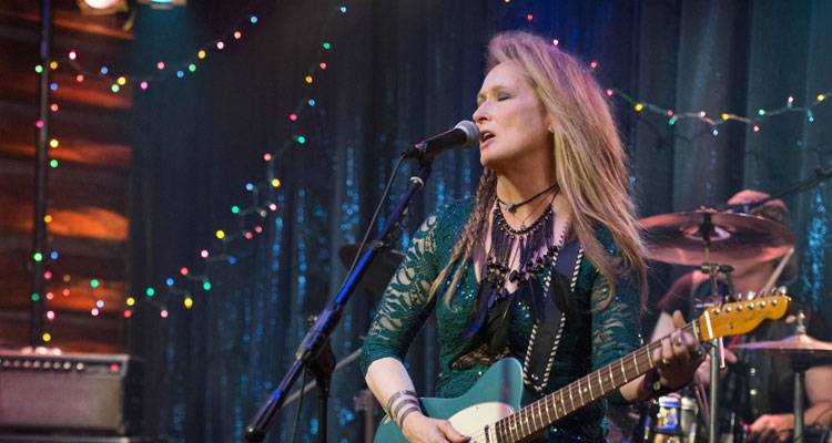 Imagen de Meryl Streep en la película 'Ricki' (2015)