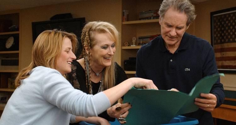 Imagen de Kevin Kline, Mamie Gummer y Meryl Streep en la película 'Ricki' (2015)