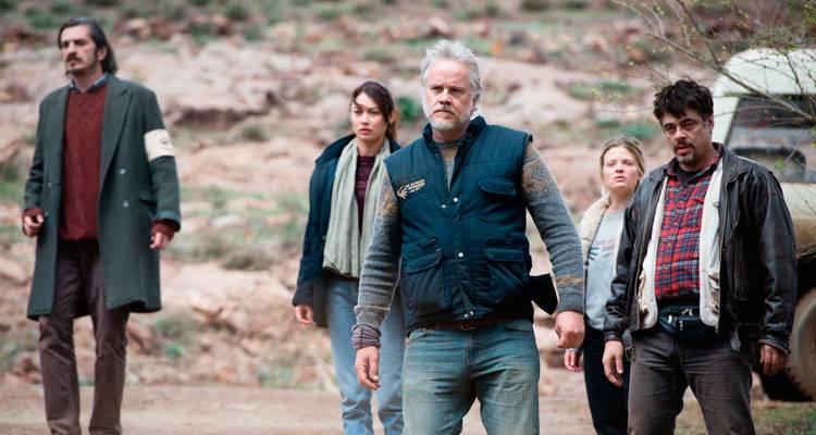Benicio Del Toro, Mélanie Thierry, Olga Kurylenko y Tim Robbins en 'Un día perfecto'