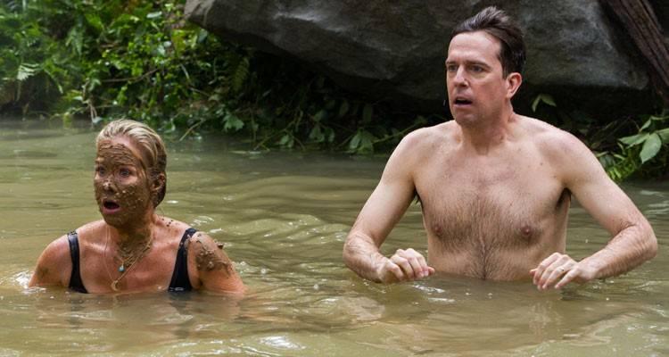 Imagen de Christina Applegate y Ed Helms en la película 'Vacaciones' (2015)