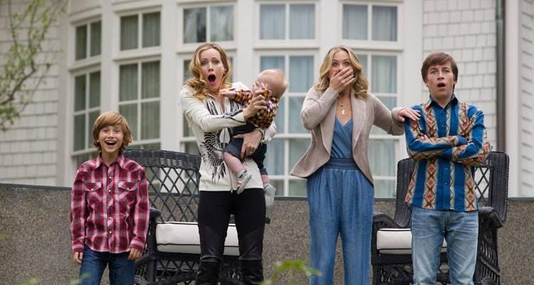 Imagen de Christina Applegate, Leslie Mann y Skyler Gisondo en la película 'Vacaciones' (2015)