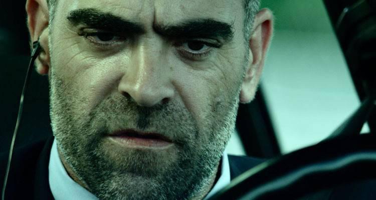 Luis Tosar en la película de 'El desconocido' (2015)