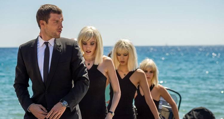 Ed Skrein en la película 'Transporter Legacy' (2015)