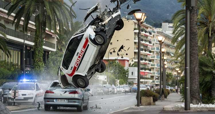 Escena de acción en la película 'Transporter Legacy' (2015)