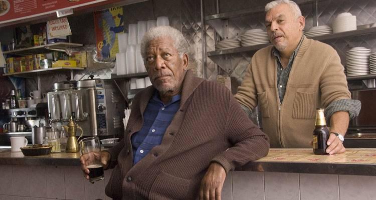 Morgan Freeman y Ted Sod en la película 'Ático sin ascensor'Morgan Freeman y Ted Sod en la película 'Ático sin ascensor'