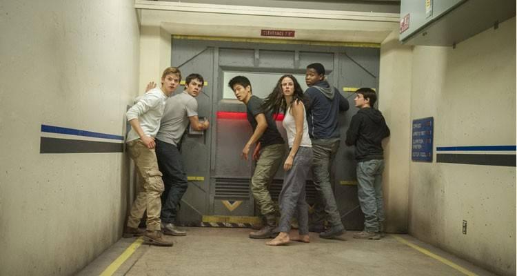 Foto Dexter Darden, Dylan O'Brien, Jacob Lofland, Kaya Scodelario, Ki Hong Lee en 'El corredor del laberinto: las pruebas'