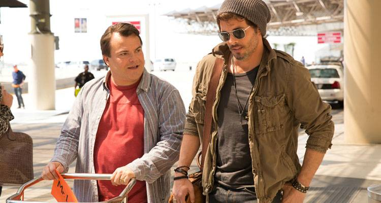Imagen de Jack Black y James Marsden en la comedia 'The D-Train' (2015)