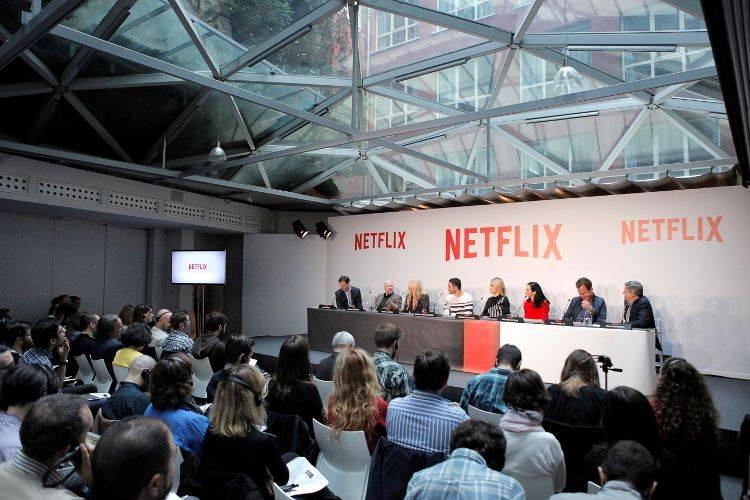 Rueda de prensa presentación de Netflix España