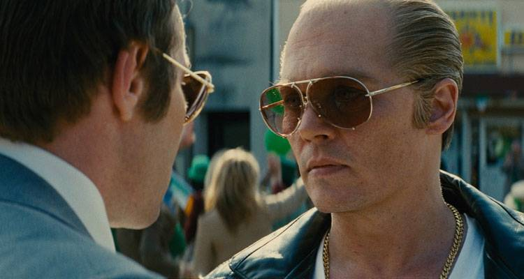 Johnny Depp en la película 'Black Mass' (2015)