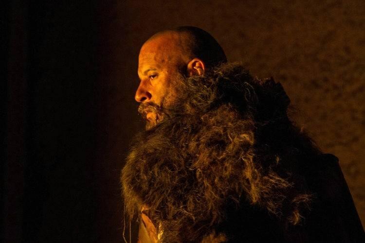 Vin Diesel es Koulder y así lucía en la edad media