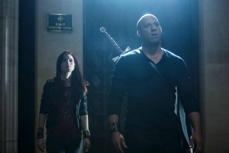 Vin Diesel con Rose Leslie
