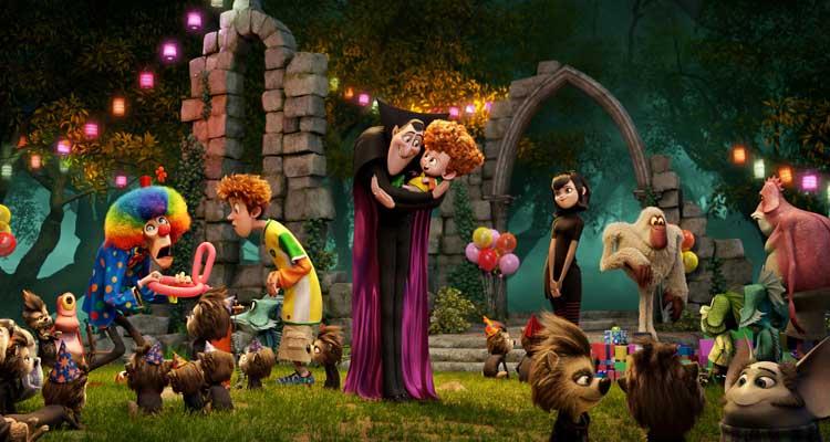 Imagen de la película de animación 'Hotel Transilvania 2'