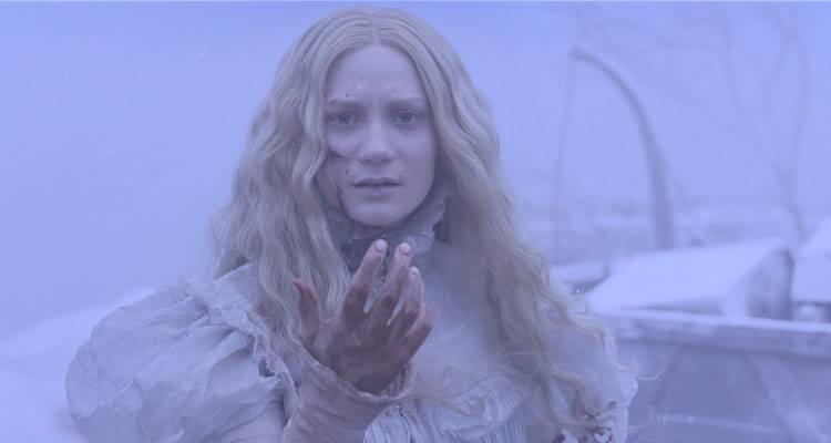 Mia Wasikowska en la película 'La cumbre escarlata'