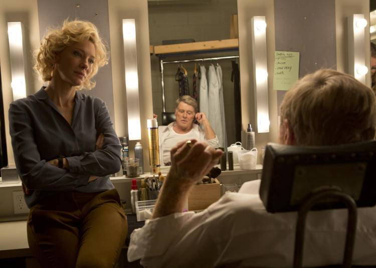 Cate Blanchett y Robert Redford en la película 'La verdad' (2015)