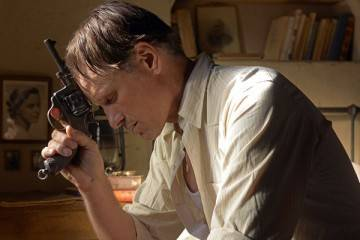 Viggo Mortensen en una escena de 'Lejos de los hombres'