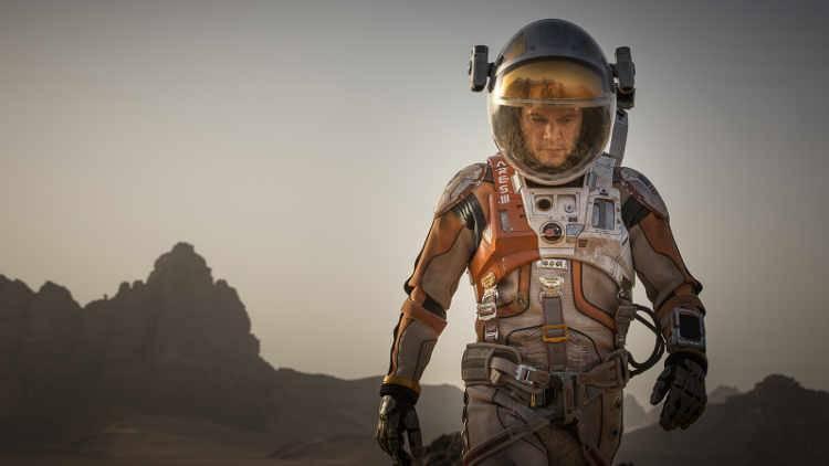 Matt Damon en una escena de la película 'Marte' de Ridley Scott