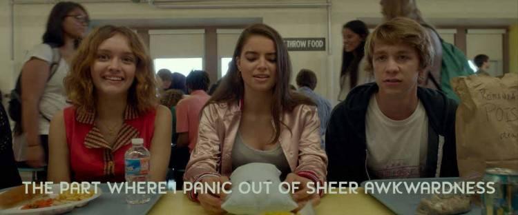 Olivia Cooke y Thomas Mann en 'Yo, él y Raquel' (2015)