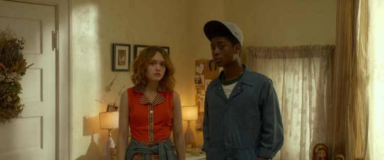 Olivia Cooke y RJ Cyler en 'Yo, él y Raquel'