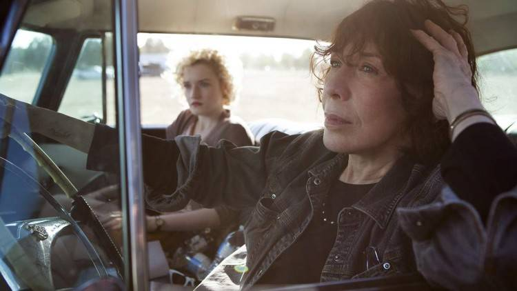 Julia Garner y Lily Tomlin - Crítica Grandma