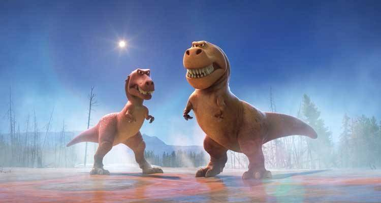 El viaje de Arlo de Disney-Pixar