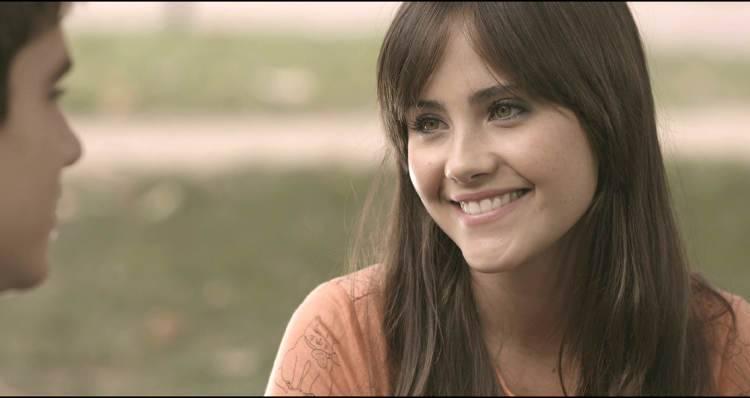 Lucía Ramos en la película 'Novatos' (2015)