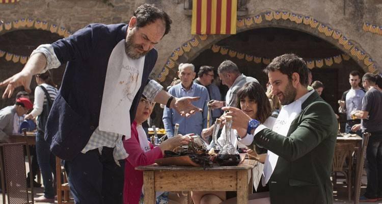Karra Ejalde y Dani Rovira en 'Ocho apellidos catalanes'