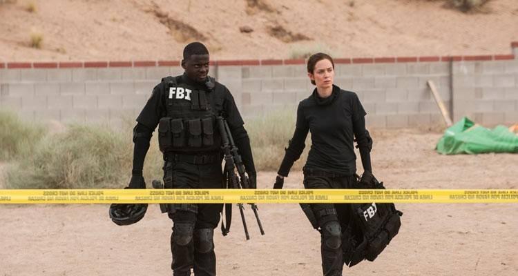 Daniel Kaluuya y Emily Blunt en la película 'Sicario' (2015)