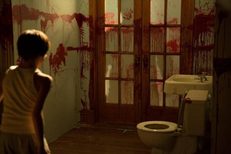 Habitación ensangrentada en 'Sinister 2'