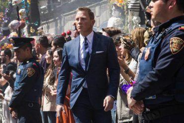Daniel Craig es James Bond en 'Spectre'