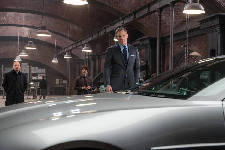 Daniel Craig es James Bond en 'Spectre'