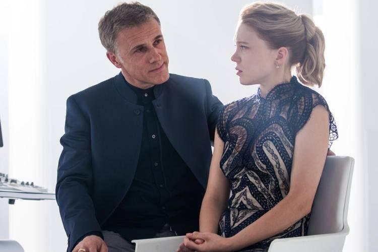 Christoph Waltz y Léa Seydoux en 'Spectre'