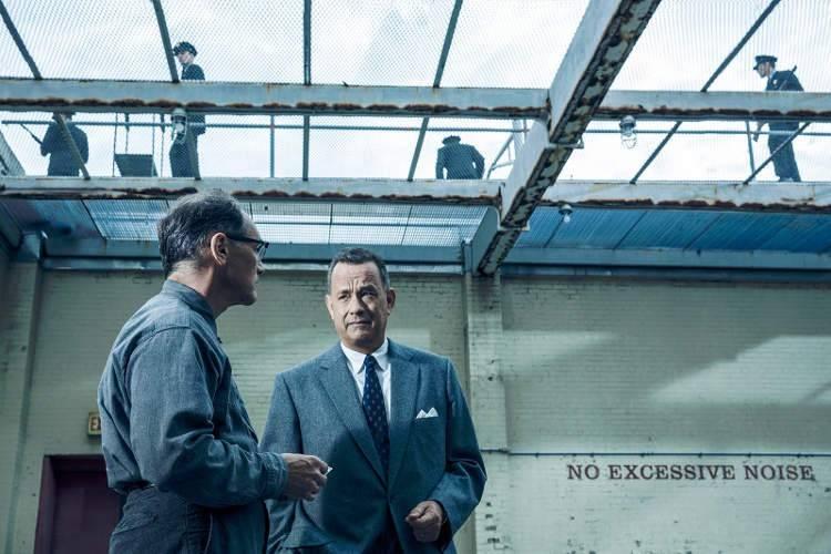 Mark Rylance y Tom Hanks en 'El puente de los espías'