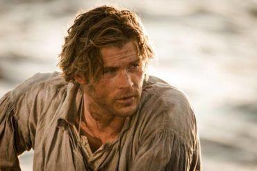 Chris Hemsworth en la película 'En el corazón del mar'