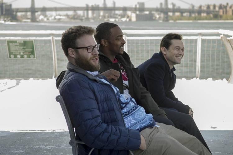 Los tres reyes malos : Foto Anthony Mackie, Joseph Gordon-Levitt, Seth Rogen