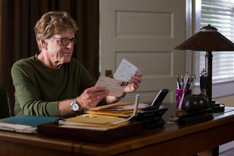 Robert Redford en una escena de la película