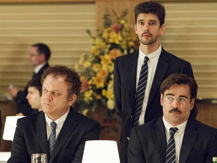 Langosta con Ben Whishaw, Colin Farrell y John C. Reilly