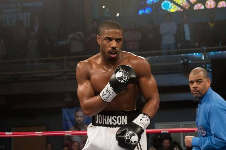 Michael B. Jordan listo para entrar en escena como Adonis Johnson