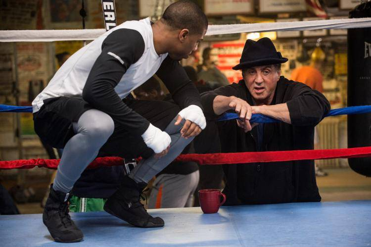 Michael B. Jordan y Sylvester Stallone