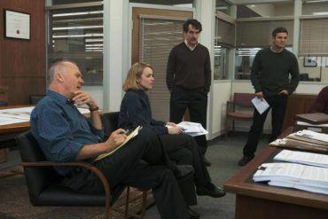 Brian d'Arcy James, Mark Ruffalo, Michael Keaton y Rachel McAdams