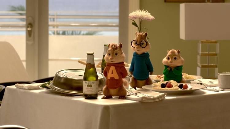 Alvin y sus colegas Simon y Theodor