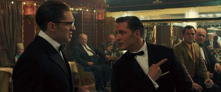 Tom Hardy vs Tom Hardy en 'Legend' (2015)