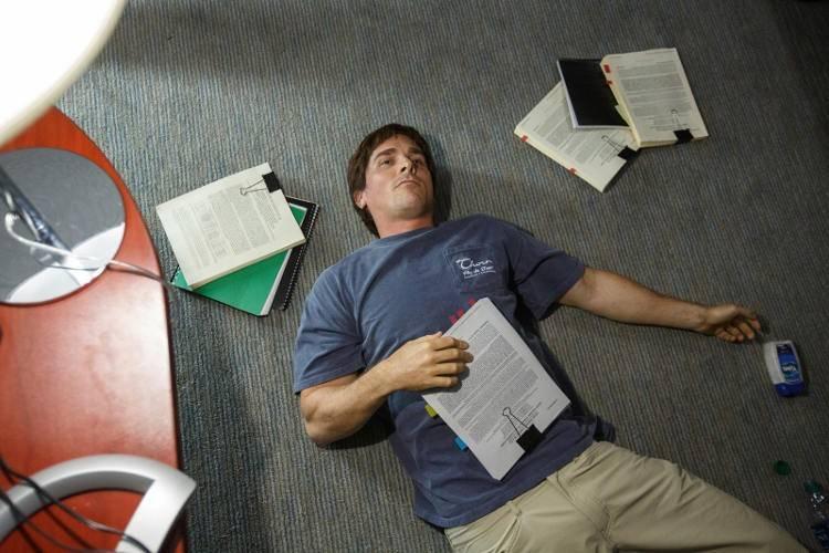 Christian Bale en la película 'La gran apuesta' (2016)