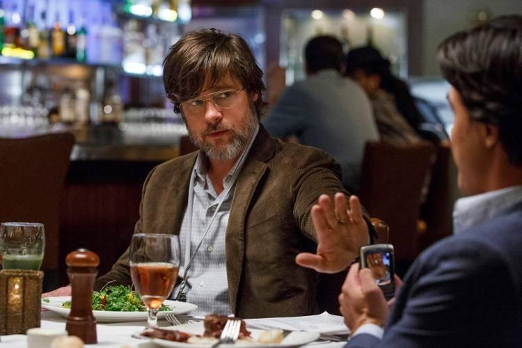 Brad Pitt en 'La gran estafa' (2016)