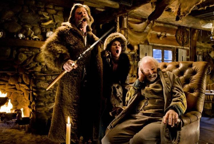 Los odiosos ocho : Bruce Dern, Jennifer Jason Leigh y Kurt Russell