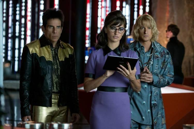 Ben Stiller, Penelope Cruz y Owen Wilson en una escena de la película.